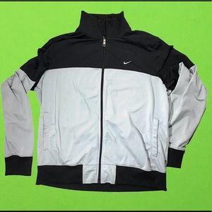 Nike zip up black & grey xl sweater